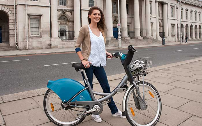HOW DO YOU GET AROUND DUBLIN?